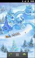 Screenshot of Snow Village Live Wallpaper