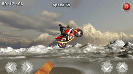 特技摩托爬坡