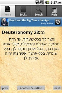 Daily Torah Mobile - screenshot thumbnail