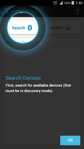 Bluetooth Raffle