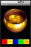 Screenshot of Tibetan Bells Sound