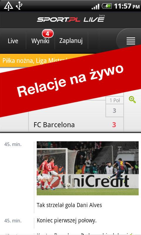 Sport.pl LIVE - screenshot