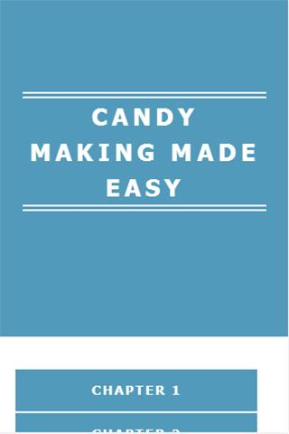 CANDY MAKING MADE EASY