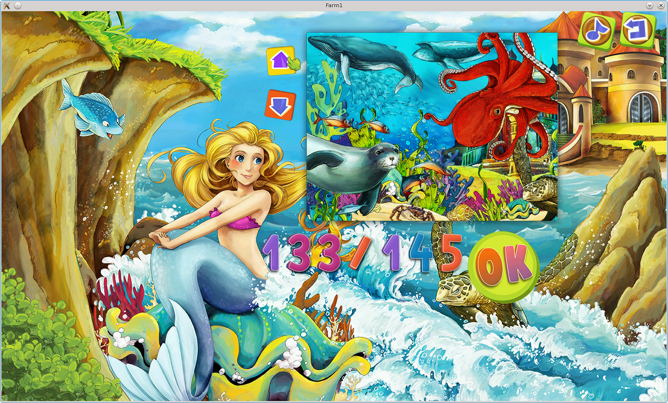 Coral Reef Jigsaw Puzzles- screenshot