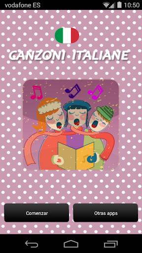 Canciones Italianas para Niños
