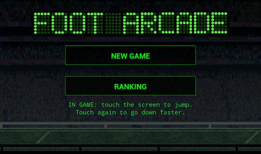 Foot Arcade Game Ranking Free