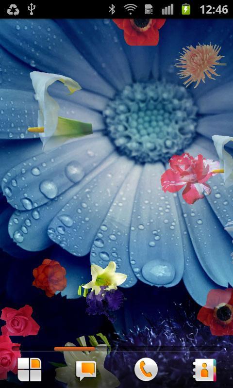 Flowers Live Wallpaper - screenshot