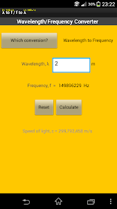 Wavelength-Frequency Converter screenshot 0