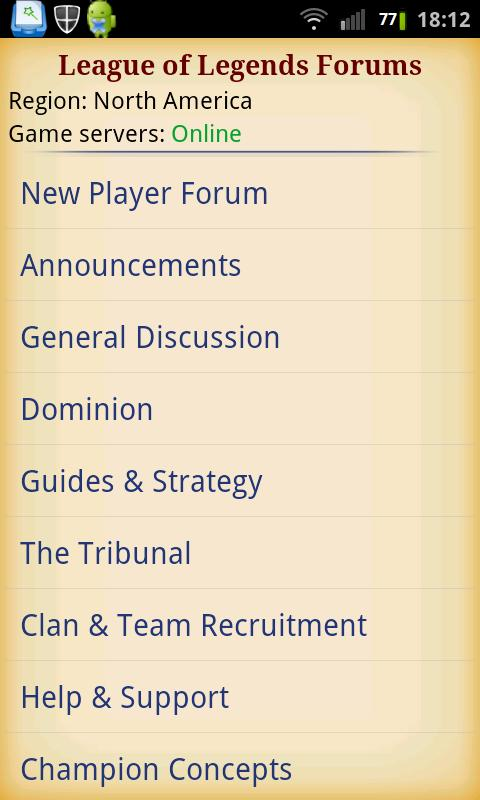 League of Legends Forums - screenshot