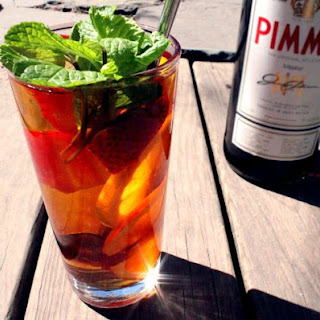 The Pimm's Royale Recipe.