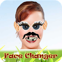 change the face - funny face icon