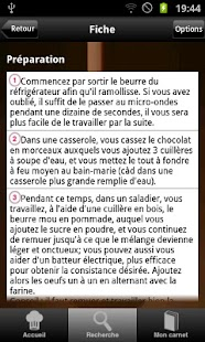 Fondant au chocolat - screenshot thumbnail