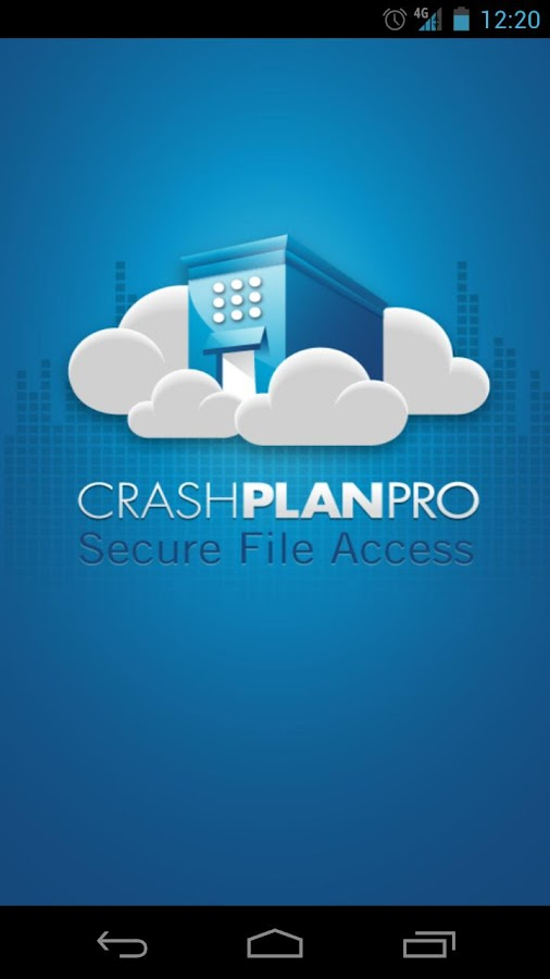 CrashPlan PRO - screenshot