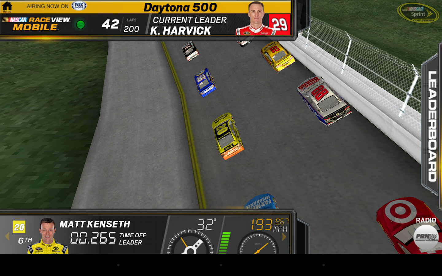 NASCAR RACEVIEW MOBILE - screenshot