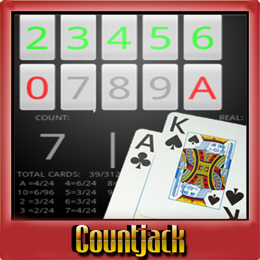 二十一点卡计数Countjack的 娛樂 LOGO-玩APPs