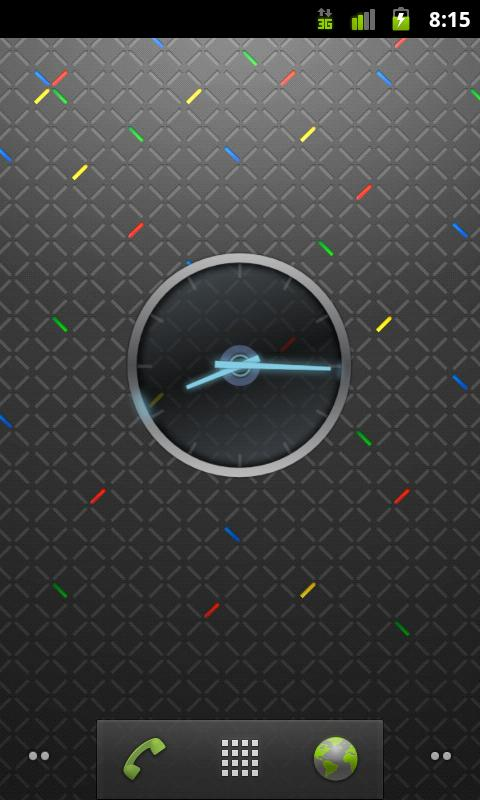 Ice Cream Sandwich Clock- screenshot