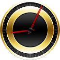 Gold Analog Clock icon