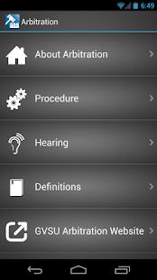 Arbitration- screenshot thumbnail