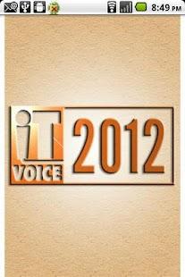 IT Voice 2012- screenshot thumbnail