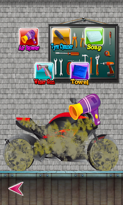 Dirty bike wash screenshot
