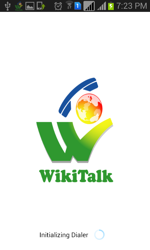 Wikitalk Dialer- screenshot