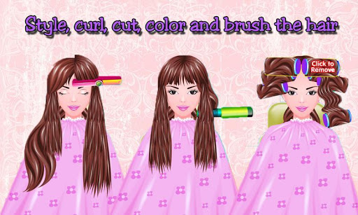 Free Girls Game Hair Salon for PC