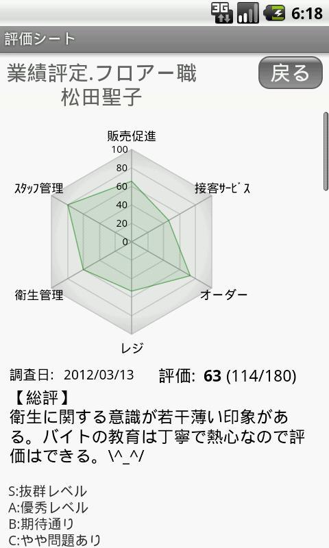 評価・診断・調査シート- screenshot