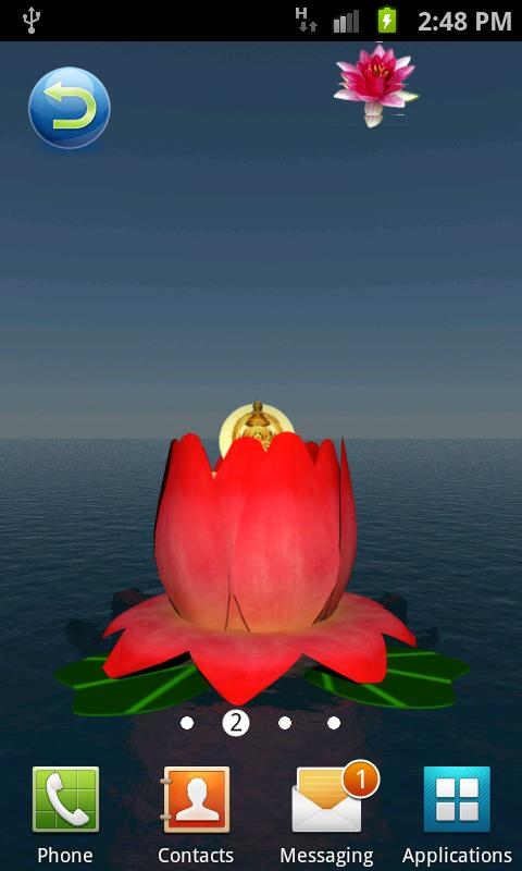 Laxmi Pooja 3D Live Wallpaper- screenshot