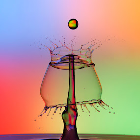 Water drop splash 3 by Duy Tang - Abstract Water Drops & Splashes ( water, liquid, splash, drop.droplet )