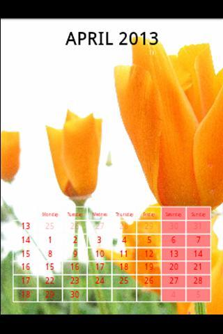 Printable wall calendar maker