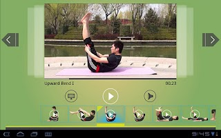 Screenshot of Daily Yoga for Abs (Tablet)