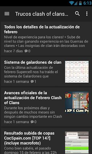 Trucos clahs of Clans Español