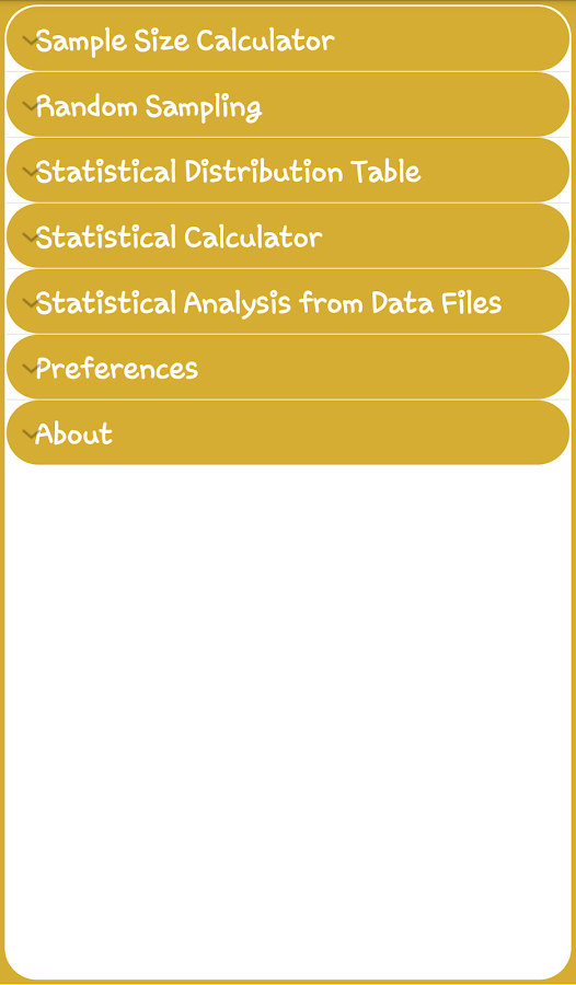 how to find sample size statistics