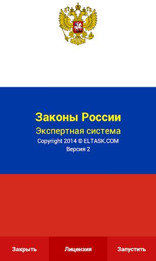 Россия. Основные законы. ЭС.
