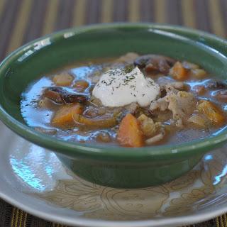 Winter Garden Quinoa-Flax Noodle Soup
