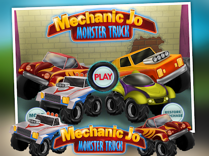 Mechanic Jo - Monster Truck - screenshot thumbnail