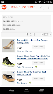 TheFind: Scan. Search. Shop. - screenshot thumbnail