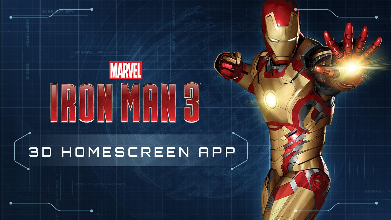 Iron Man 3 Live Wallpaper- screenshot