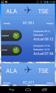 Air Astana- screenshot thumbnail
