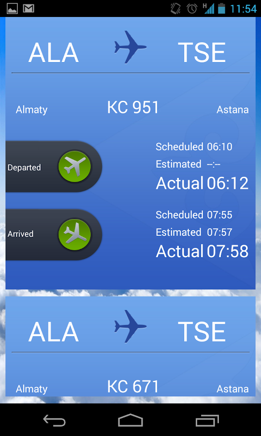 Air Astana- screenshot