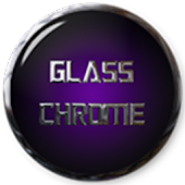 Purple Glass Chrome Icons