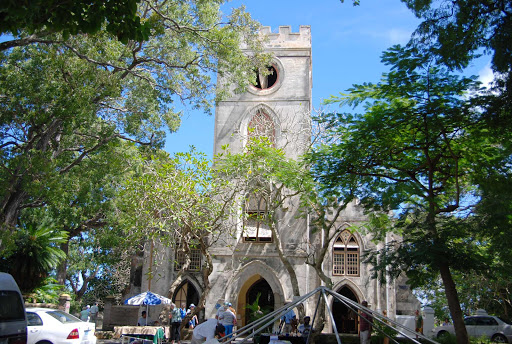 St-John-church-barbados - St. John Parish Church in Barbados.