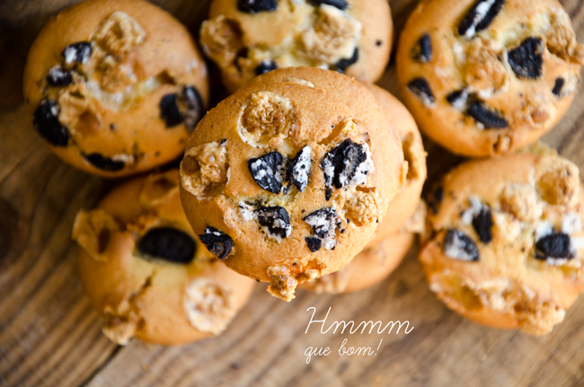 Marshmallows and Oreo Muffins Recipe