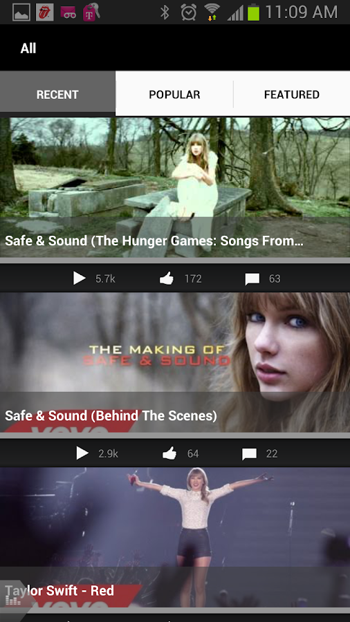 Taylor Swift - screenshot