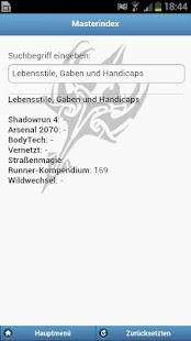Mobile Runner for Shadowrun 4- screenshot thumbnail