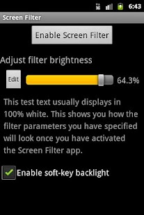 Screen Filter Screenshot 5