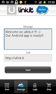 Ulink.it QR code scanner- screenshot thumbnail