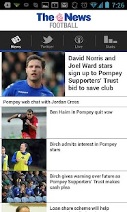 Portsmouth News Football app - screenshot thumbnail