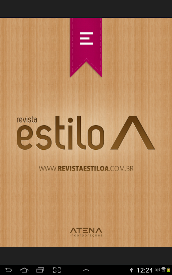 Revista Estilo A - screenshot