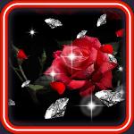 Diamond n Roses live wallpaper